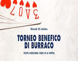 Torneo benefico di burraco